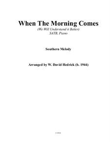 When the Morning Comes: When the Morning Comes by folklore