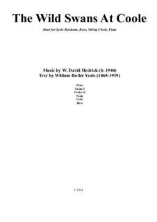 The Wild Swans At Coole: The Wild Swans At Coole by William Hedrick