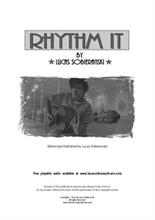 Rhythm It: Rhythm It by Lucas Sobieranski