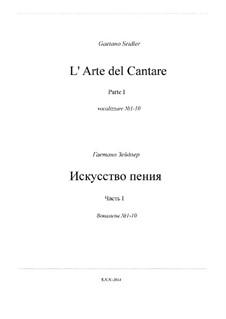 L' Arte del Cantare. Parte I: Complete set by Gaetano Seidler