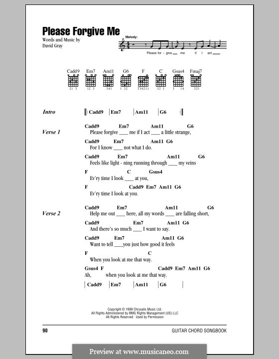 Fine Guitar Chords For When I Look At You Sketch - Beginner Guitar ...