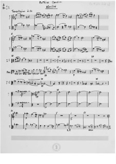 Evening Song for Baritone and String Orchestra without Violins: Orchestral Parts by Ernst Levy