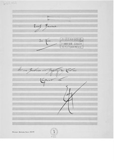 Im Korn for Bass and Piano: Im Korn for Bass and Piano by Ernst Levy