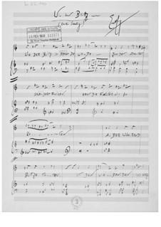 Wie der Blitz for Voice and Piano: Wie der Blitz for Voice and Piano by Ernst Levy