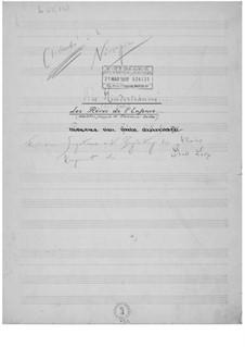 Les rêves de l'enfance for Voice and Piano: Les rêves de l'enfance for Voice and Piano by Ernst Levy