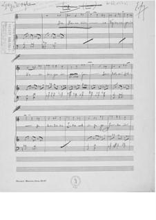 Lenz für eine Singstimme mit Klavierbegleitung: Lenz für eine Singstimme mit Klavierbegleitung by Ernst Levy