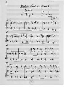 Wanderers Nachtlied for Baritone and Piano: Wanderers Nachtlied for Baritone and Piano by Ernst Levy