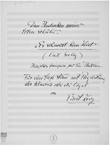 Es schmerzt kein Leid for Deep Voice and Piano or Organ: Es schmerzt kein Leid for Deep Voice and Piano or Organ by Ernst Levy