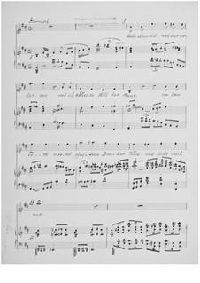 Liebchen hat mich heut verlassen for Tenor and Piano: Liebchen hat mich heut verlassen for Tenor and Piano by Ernst Levy
