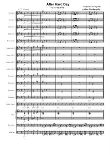 After Hard Day: Big-band version by Arthur Orenburgsky