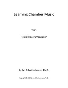 Learning Chamber Music: Trio for flexible instrumentation by Michele Schottenbauer