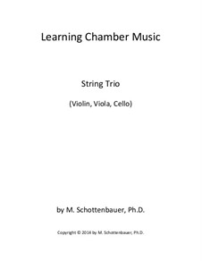 Learning Chamber Music: String trio by Michele Schottenbauer
