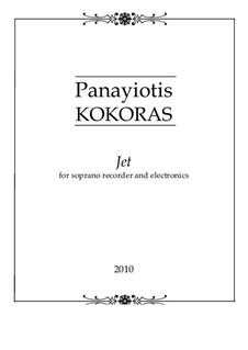 Jet: Jet by Panayiotis Kokoras