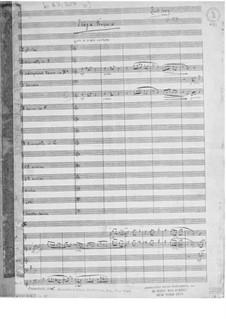 Symphony No.10 'France': Movement III 'Elégie française' – Full score by Ernst Levy