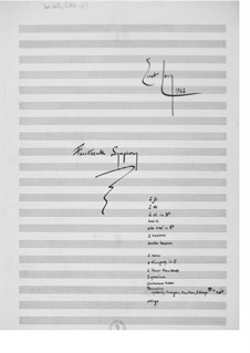 Symphony No.14: Full score by Ernst Levy