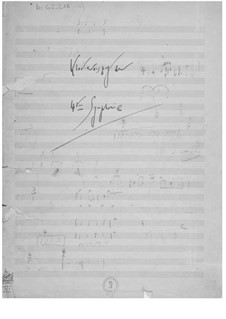 Symphony No.4: Piano Score by Ernst Levy