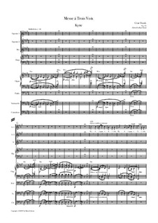 Mass in A Major, FWV 61 Op.12: For soloists, choir and chamber orchestra by César Franck