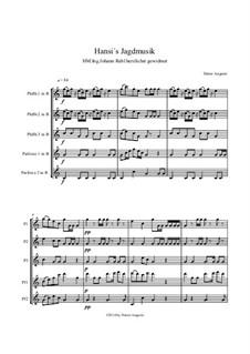 Hansi's Jagdmusik: Hansi's Jagdmusik by Dieter Angerer