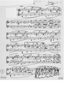 Piece for Piano No.6: Piece for Piano No.6 by Ernst Levy