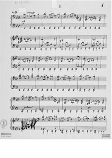 Piece for Piano No.8: Piece for Piano No.8 by Ernst Levy