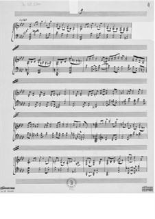 Piece for Piano No.9: Piece for Piano No.9 by Ernst Levy