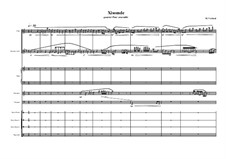 Xisomde for Flute, Clarinet, harp and percussion, MVWV 799: Xisomde for Flute, Clarinet, harp and percussion by Maurice Verheul