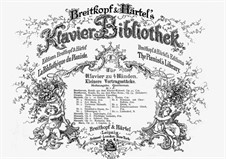 Scherzo, Op.9: For piano four hands by Adolf von Henselt