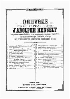 Polka pour Piano à 4 mains: Polka pour Piano à 4 mains by Adolf von Henselt