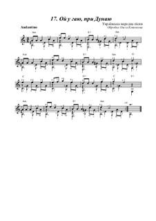 Ой, у гаю пры Дунаю: Для гитары by folklore