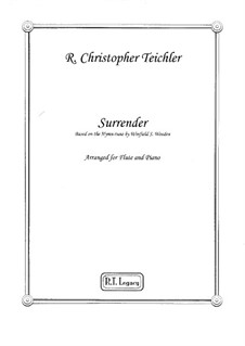 Surrender: Surrender by Winfield Scott Weeden, R. Christopher Teichler