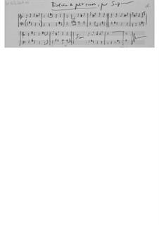 Pièce pour le nouvel an (1975): For piano by Ernst Levy