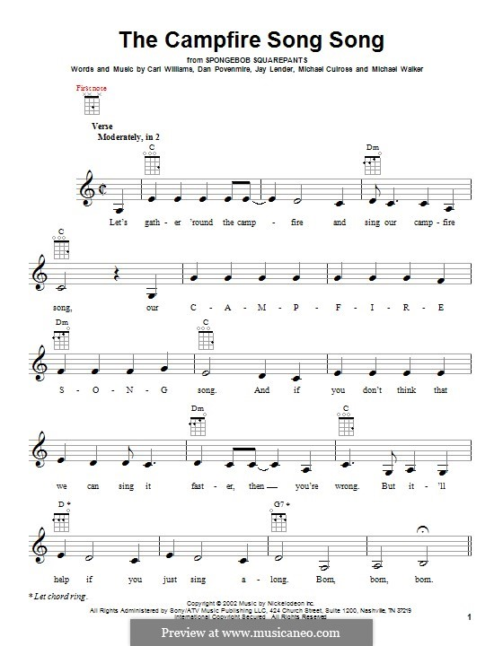 Guitar ukulele tabs guitar pro : Ukulele : spongebob ukulele tabs Spongebob Ukulele as well as ...