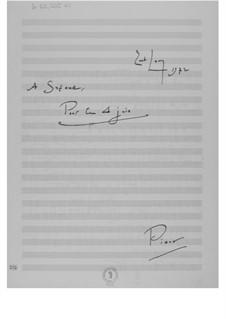 Pour le 4 juin: Pour le 4 juin by Ernst Levy