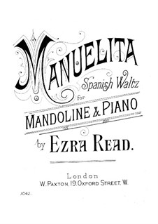 Manuelita: Manuelita by Ezra Read