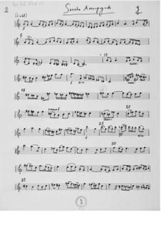 Sonata accompagnata for Violin and Piano: Violin Part by Ernst Levy