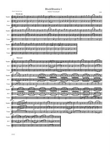Blockflötentrio 1: Blockflötentrio 1 by Friedrich Gross