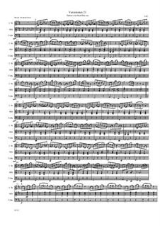 Übungsstück, Variationen 21: Übungsstück, Variationen 21 by Friedrich Gross