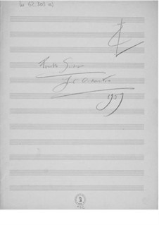 Suite for Orchestra No.4: Composer's Sketches by Ernst Levy