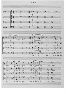 Psalm 121 (Choral Score): Choral Score by Ernst Levy