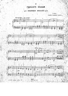 Feuillets d'Album, Op.83: Feuillets d'Album by Stephen Heller