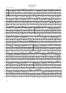 Übungsstück, Variation 29: Übungsstück, Variation 29 by Friedrich Gross