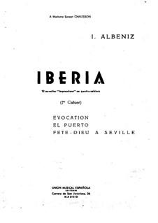 Iberia: Book I by Isaac Albéniz