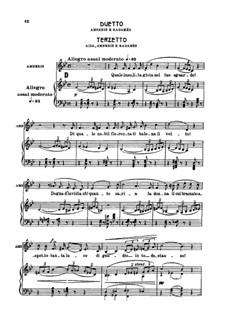 Fragments: Duetto (Amneris e Radames), Terzetto (Aida, Amneris e Radames) by Giuseppe Verdi