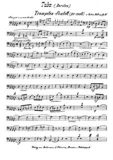 Brass Sextet in E Flat Minor, Op.30: Tuba part by Oskar Böhme
