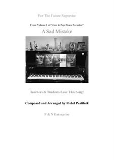 A Sad Mistake: A Sad Mistake by Fishel Pustilnik