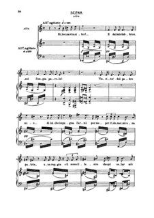 Ritorna vincitor!: For soprano and piano by Giuseppe Verdi