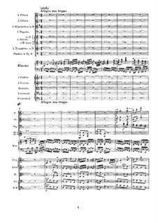 Concerto for Piano and Orchestra No.1 in D Minor, Op.15: Movement III by Johannes Brahms