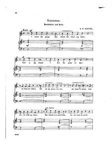 Susanna, HWV 66: Beneath the Cypress' Gloomy Shade by Georg Friedrich Händel