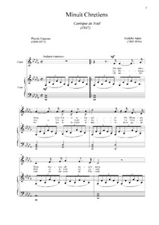 Piano-vocal score: For voice and piano (D Flat Major) by Adolphe Adam