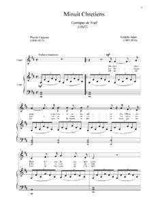 Piano-vocal score: For voice and piano (D Major) by Adolphe Adam